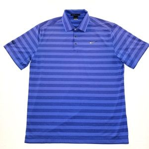 Tiger Woods Collection Nike Dri Fit Golf Polo XL